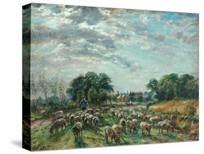 The Road to Hatfield Heath, C.1900-William Mark Fisher-Stretched Canvas Print