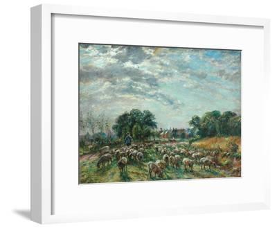 The Road to Hatfield Heath, C.1900-William Mark Fisher-Framed Giclee Print