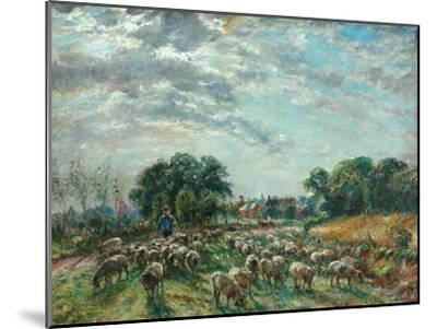 The Road to Hatfield Heath, C.1900-William Mark Fisher-Mounted Giclee Print