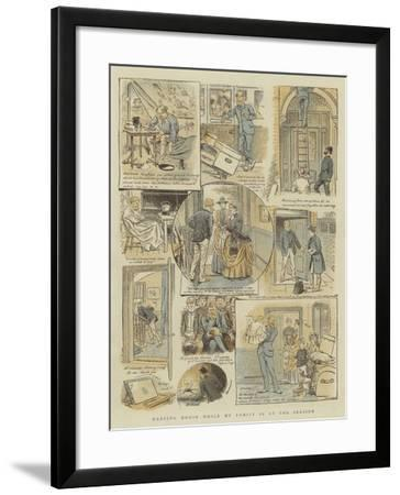 Keeping House While My Family Is at the Seaside-William Ralston-Framed Giclee Print