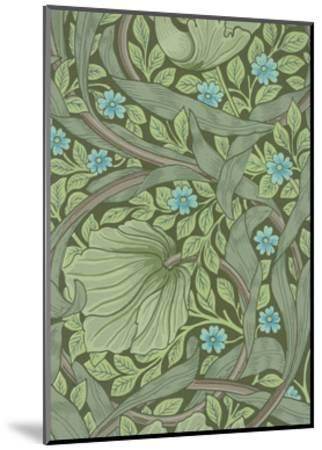 William Morris Wallpaper Sample with Forget-Me-Nots, C.1870-William Morris-Mounted Premium Giclee Print