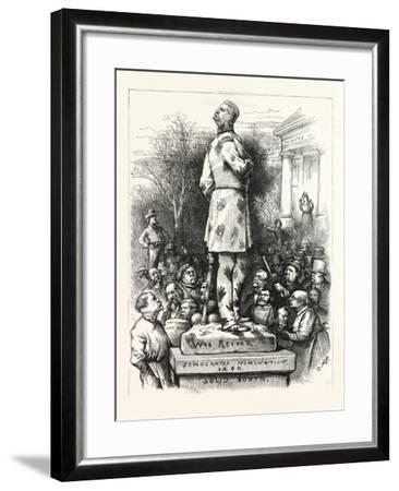 A Pity!--Framed Giclee Print