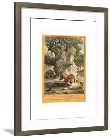 A.J. De Fehrt after Jean Baptiste Oudry (French--Framed Giclee Print