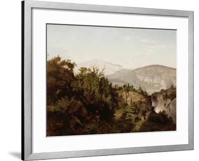 In the Adirondack Mountains, 1857-William Trost Richards-Framed Giclee Print