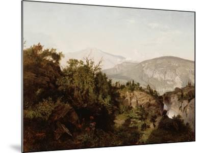 In the Adirondack Mountains, 1857-William Trost Richards-Mounted Giclee Print