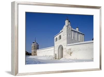 Access Door and Walls of the Convent of the Intercession--Framed Photographic Print