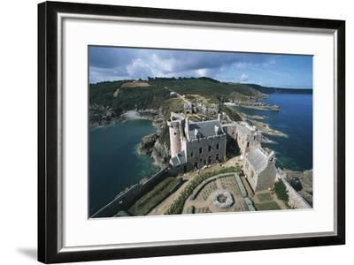 Accommodation and Gatehouse Seen from Courtyard--Framed Photographic Print