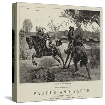 Saddle and Sabre-William Small-Stretched Canvas Print