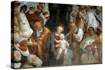 Adoration of Magi--Stretched Canvas Print