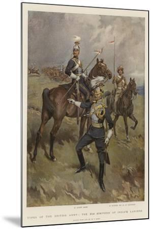 Types of the British Army, the 21st (Empress of India's) Lancers-William T^ Maud-Mounted Giclee Print