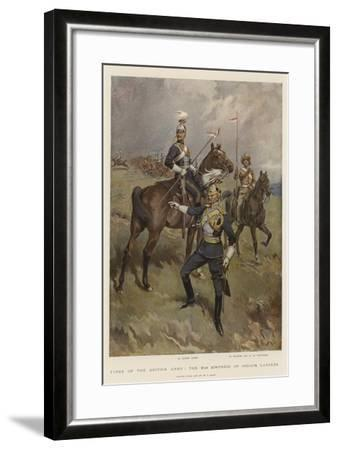 Types of the British Army, the 21st (Empress of India's) Lancers-William T^ Maud-Framed Giclee Print