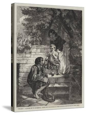 Charity-William Underhill-Stretched Canvas Print