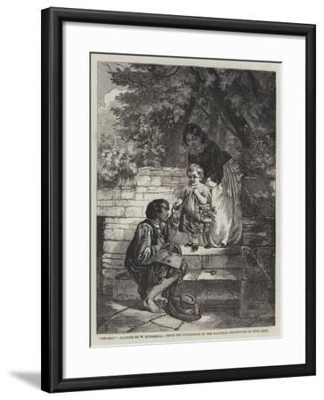 Charity-William Underhill-Framed Giclee Print
