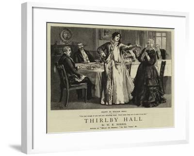 Thirlby Hall-William Small-Framed Giclee Print