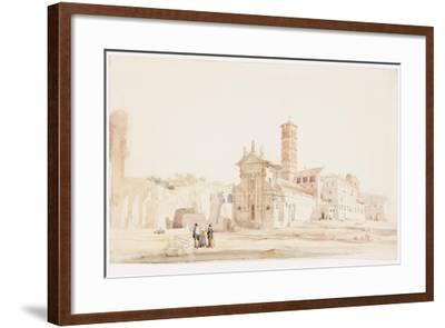 In the Forum, Rome-William Wood Deane-Framed Giclee Print
