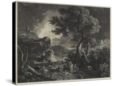 The Destruction of the Children of Niobe, 1761-William Woollett-Stretched Canvas Print