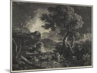 The Destruction of the Children of Niobe, 1761-William Woollett-Mounted Giclee Print