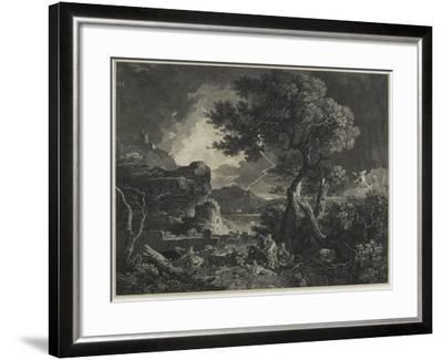 The Destruction of the Children of Niobe, 1761-William Woollett-Framed Giclee Print