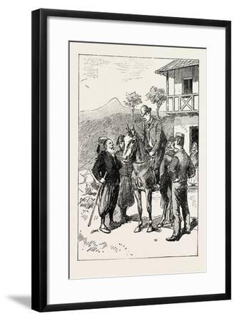 A Morning Ride in Athens--Framed Giclee Print