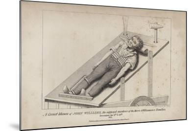 A Correct Likeness of John Williams--Mounted Giclee Print