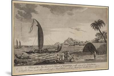 A View of the New Discovered Island of Ulietea--Mounted Giclee Print