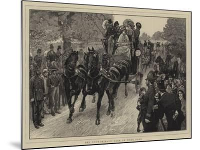 The Four-In-Hand Club in Hyde Park-William Small-Mounted Giclee Print
