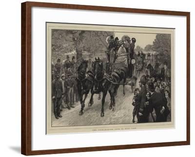 The Four-In-Hand Club in Hyde Park-William Small-Framed Giclee Print
