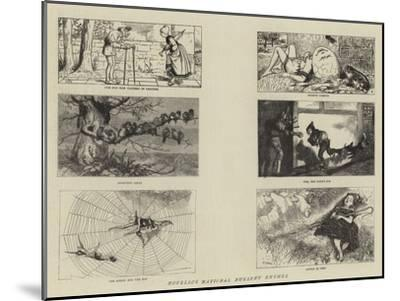 Novello's National Nursery Rhymes-William Small-Mounted Giclee Print