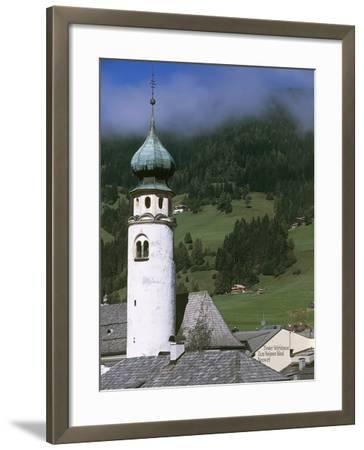Bell Tower of St Michael's Church--Framed Photographic Print