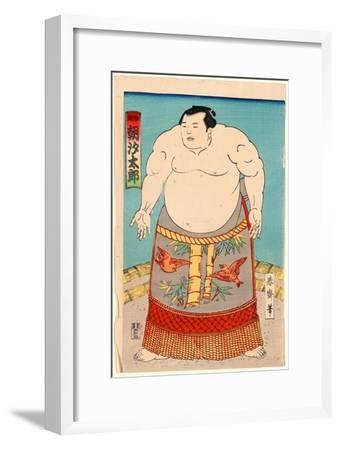 Asashio Taro--Framed Giclee Print