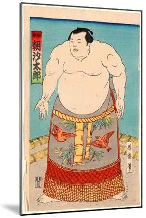 Asashio Taro--Mounted Giclee Print