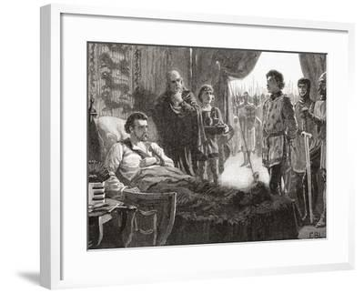 Bertrand De Gourdon Aka Pierre (Or Peter) Basile--Framed Giclee Print