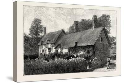 Anne Hathaway's Cottage at Shottery--Stretched Canvas Print