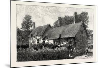 Anne Hathaway's Cottage at Shottery--Mounted Giclee Print