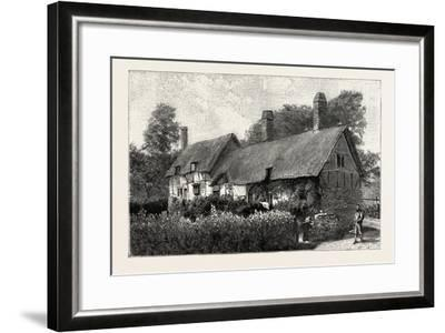Anne Hathaway's Cottage at Shottery--Framed Giclee Print