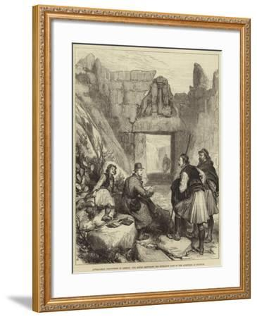Antiquarian Discoveries in Greece--Framed Giclee Print