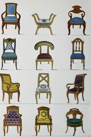 Armchairs--Stretched Canvas Print