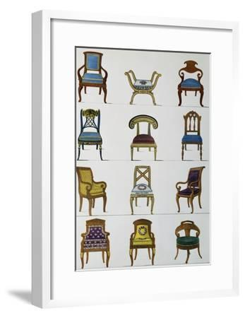 Armchairs--Framed Giclee Print