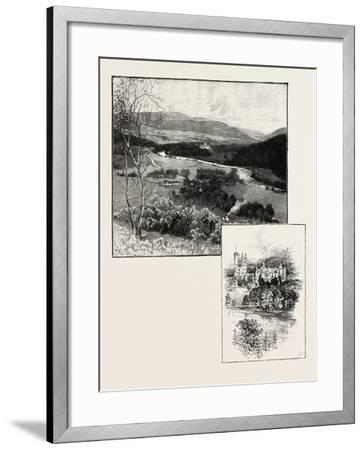 Balmoral and Balmoral Castle--Framed Giclee Print