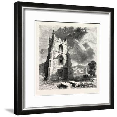 Bangor Cathedral. Bangor Cathedral Is an Ancient Place of Christian Worship Situated in Bangor--Framed Giclee Print