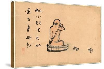 An Elderly Man--Stretched Canvas Print