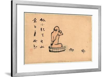 An Elderly Man--Framed Giclee Print