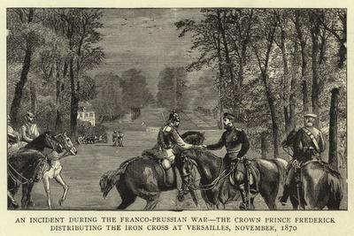 An Incident During the Franco-Prussian War--Framed Giclee Print