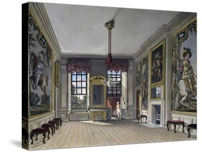 Audience Hall of Queen--Stretched Canvas Print