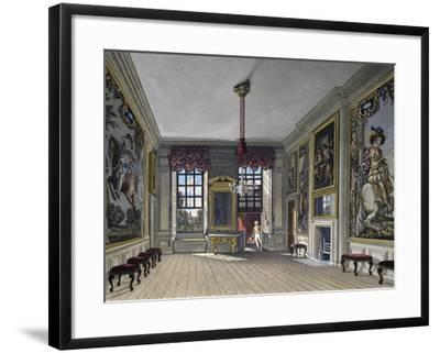 Audience Hall of Queen--Framed Giclee Print