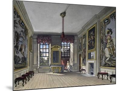 Audience Hall of Queen--Mounted Giclee Print