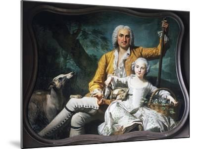 Autumn and Marquis Henri-Auguste--Mounted Giclee Print