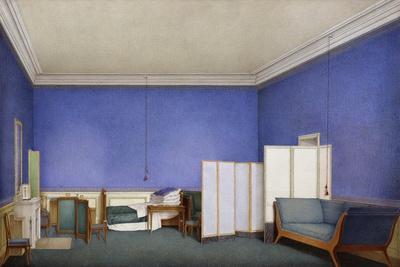 Bedroom of General Count Adam Albert Von Neipperg--Framed Giclee Print