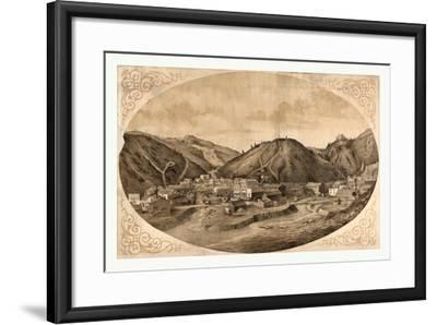 Bird's Eye View of Black Hawk Point--Framed Giclee Print