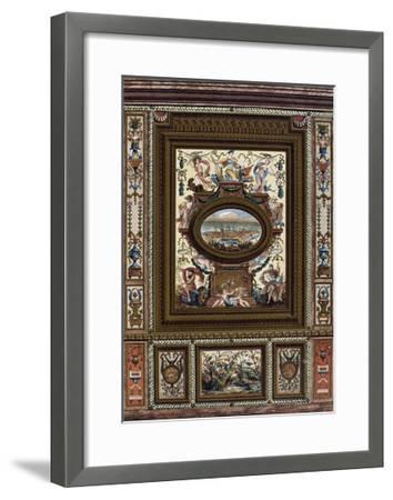 Carved Dado (Lambris)--Framed Giclee Print